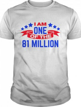 I Am One Of The 81 Million Stars And Ribbon shirt
