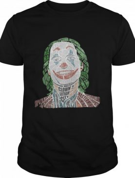 Joker Criminal Mastermind Clown Gotham City Shirt