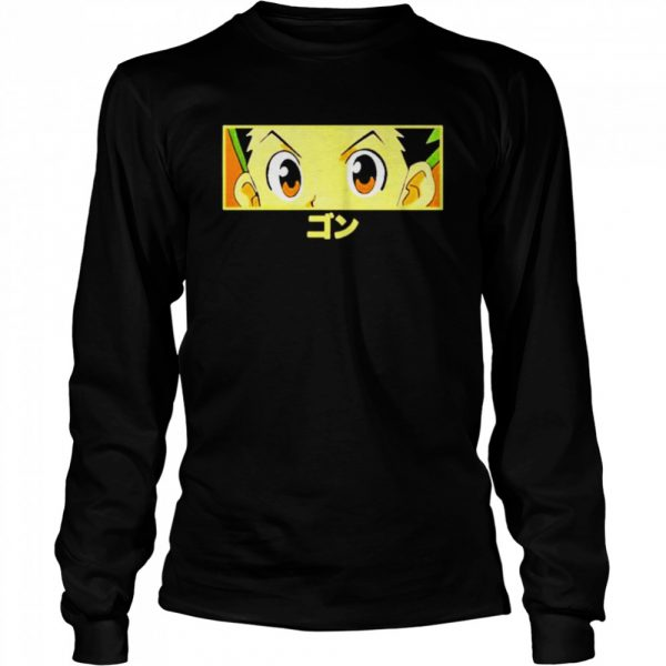 Limited edition hypland x hunter x hunter gon eye  Long Sleeved T-shirt
