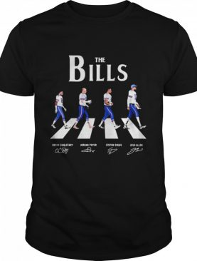 The Bills Abbey Road signatures shirt